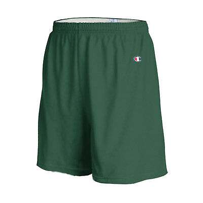 """Champion Men's 6"""" Athletic Solid Cotton Gym Workout Shorts w/ Drawstring 8187"""