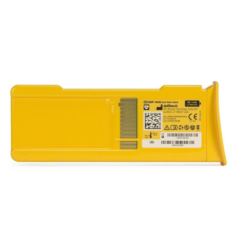 Defibtech Lifeline AED Standard 5-Year Battery Pack (2025 expiration)