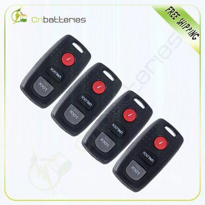 4PCS  Replacement for KPU41846 41846-B 2004-2005 Mazda 6 Remote Car Keyless Key