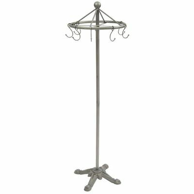 Industrial Round Clothes Rack 31946