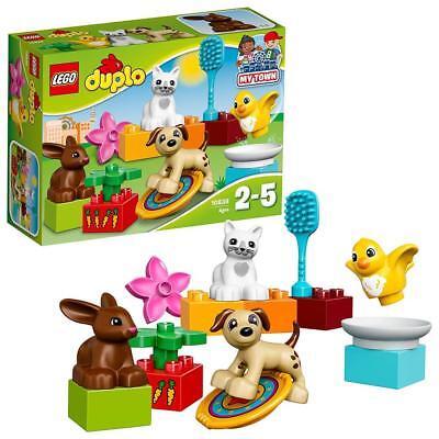 LEGO Duplo 10838 - Haustiere Kinder Tiere Spielzeug für Mädchen/Jungen ab 2 NEU (Mädchen Spielzeug Lego)