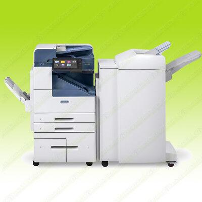 Xerox Altalink B8075 Laser Mono Bw Printer Scanner Copier Finisher 75ppm A3 124k
