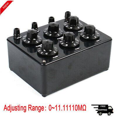 ZX21E 0~11.11110MΩ Precision Variable Decade Resistor Resistance Box