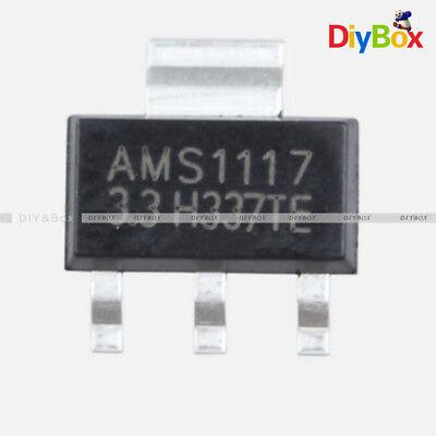 10pcs Ams1117 Lm1117 1a 5v Sot-223 Voltage Regulator New