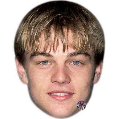 Leonardo Dicaprio (Young) Celebrity Mask, Card Face and Fancy Dress Mask