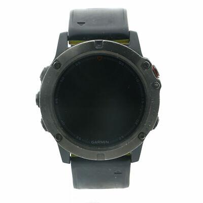 Preowned Garmin Fenix 5X Slate Gray Sapphire with Black Band - 010-01733-01