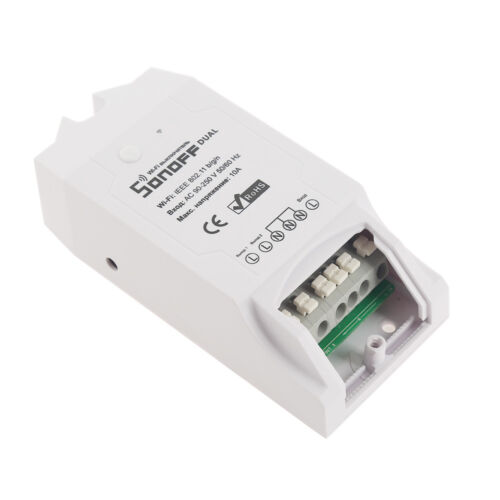 Sonoff ITEAD Dual Smart Home WiFi Wireless Timer Switch Module For Apple Android