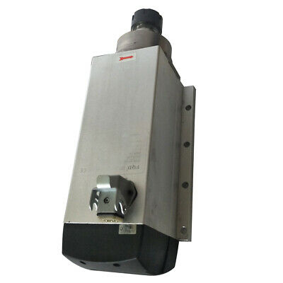 Flanged Mounting Cnc Spindle Motor For Furniture Cutter Ac220 V 6kw 1800rpm
