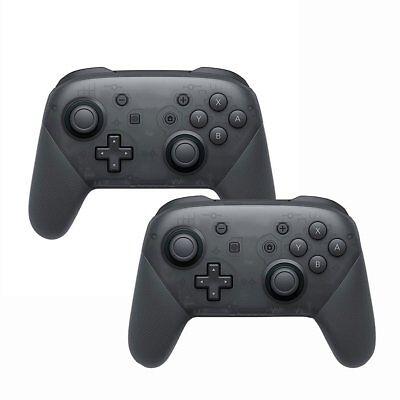 2x Wireless Bluetooth Pro Controller Gamepad Ladekabel für Nintendo Switch