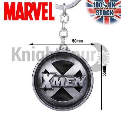 Large X-men XMEN Logo Key Ring Key Chain - Marvel Fan Gift Stocking Filler