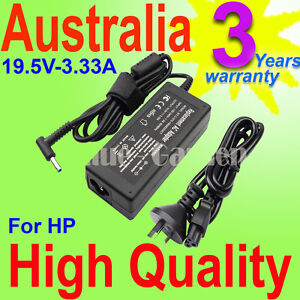 19.5V 3.33A 65W Laptop AC Power Adapter Charger for HP Protect Smart YH3114