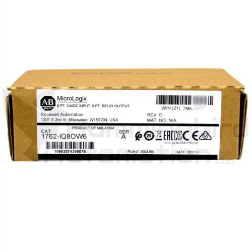 2020-2021 NEW SEALED Allen Bradley MicroLogix 1762-IQ8OW6 /A Combination Module