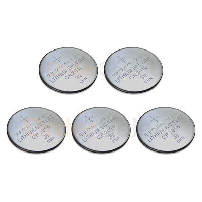 5 PACK Battery Coin Button Watch Calculator 3V CR2016 CR 2016 Authorized Seller