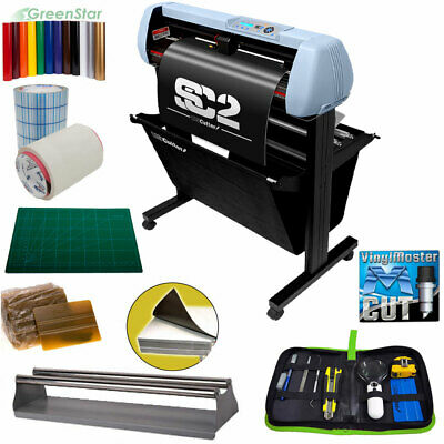 Bundle 34 Sc2 Vinyl Cutter Plotter Wcatch Basket Tools Supplies - Uscutter