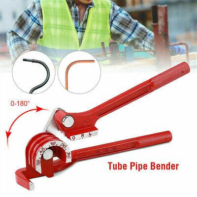 3 Way Tubing Pipe Bender Die Mini 14 516 38 180 Deg. Copper Brake Water Line