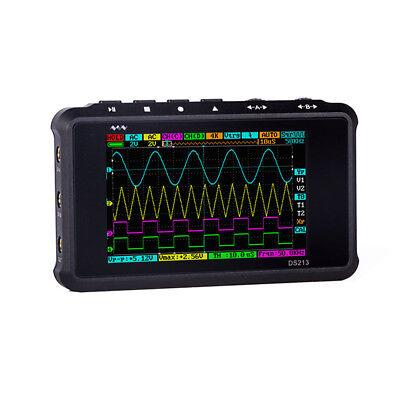 Arm Dso213 Quad 4ch Portable Pocket Sized Digital Storage Oscilloscope 15mhz Us