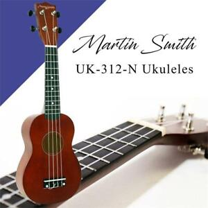 NEW Martin Smith UK-312-N Ukuleles, Natural Condtion: New, Natural
