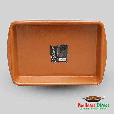 Spanish Terracotta Lasagne Dish - 38cm x 26cm