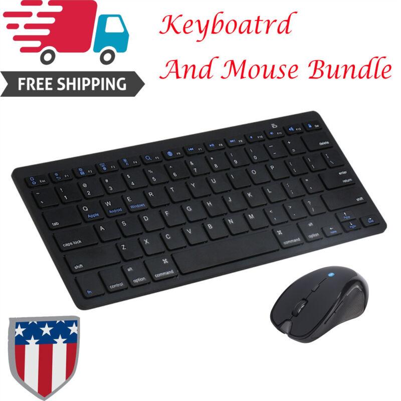 Ergonomic Optical Gaming Wireless Bluetooth Keyboard And Mou