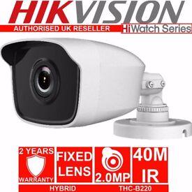 Hikvsion THC-B220 HD 2mp 1080p TVI-AHD-CVI-CVBS EXIR Bullet Camera IR 40m IP66