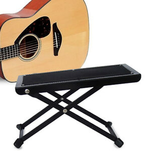 Guitar Foot Stool Folding Metal Rest for Acoustic Electric Classical Guitars UK