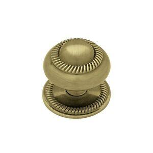 Knob Roped Backplate Bronze Kitchen Cabinet Dresser Hardware PN0401V