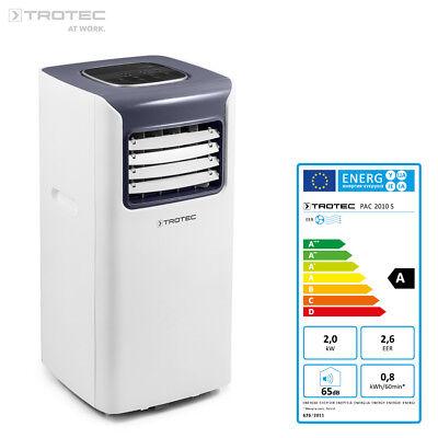 TROTEC PAC 2010 S Lokales Klimagerät Mobile Klimaanlage 2,0 kW/7.000 Btu; EEK A