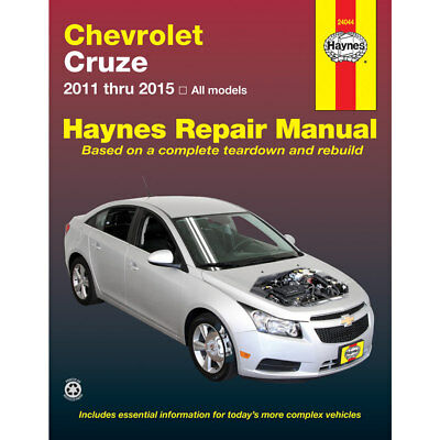 Chevrolet Cruze All Models 2011 2015 Haynes USA Workshop Manual