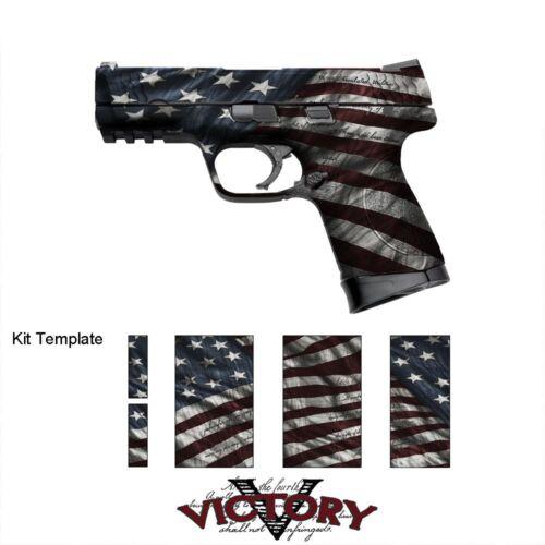 GunSkins Pistol Victory Skin Camo Wrap Universal DIY Vinyl Kit