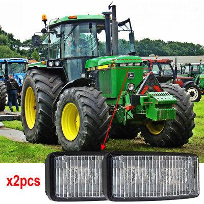 Re306510 Rectangular 20w Led Headlights For John Deere 4040 4050 4055 4450 X2pcs