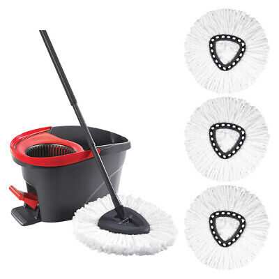 - 1/3/5 Mop Head Refill Replacement for O-Cedar EasyWring Microfiber Spin Mop