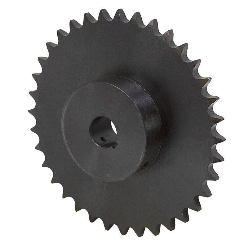 """36 Tooth 1"""" Bore 50 Pitch Roller Chain Sprocket 1-2124-36-E"""