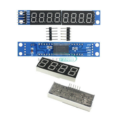 Max7219 Led Dot Matrix 8-digit 0.56 Led Display Tube Control Module For Arduino