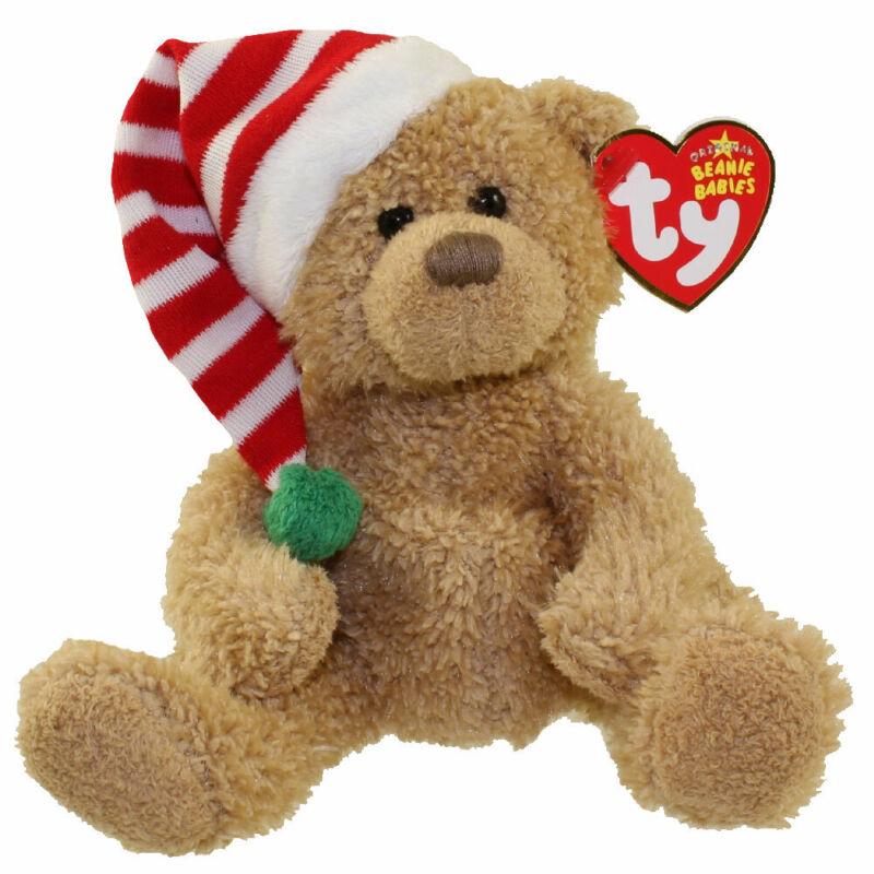 TY Beanie Baby - SKIS the Bear (8 inch) - MWMTs Stuffed Animal Toy