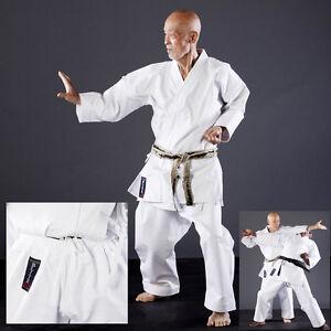 KARATEGI KARATE 14 oz KEIKOGI WHITE DIAMOND x Karateka Master Kimono