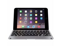 **NEW** Clamcase Pro keyboard cover for iPad Mini 1, 2 & 3 - White/Silver