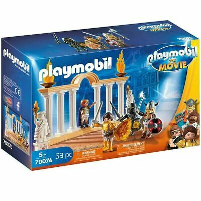 Playmobil The Movie 70076 Emperor Maximus Set Includes Figures & Accessories NEW