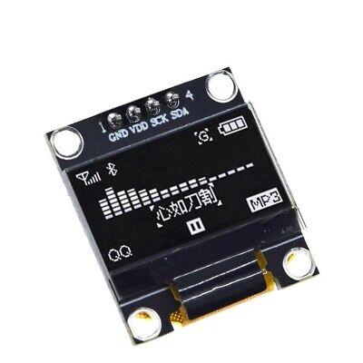 Qty - One - 0.96 I2c Iic Spi Serial 128x64 White Oled Display Module Us Seller