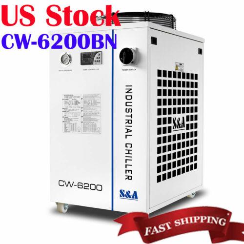 Original  S&A CW-6200BN Water Chiller for CO2 Laser / CNC Spindle / Fiber Laser