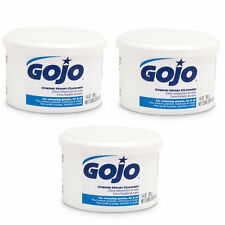 Gojo Hand Cleaner Creme Removes Grease Tar and Oil Auto Shop 14 oz Lot of 3 New