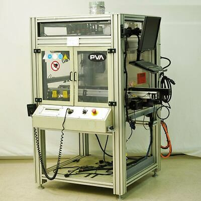 Precision 3-axis Robot Work Cell 17x15x3.5 Travel Cnc Cell Pva Galil Thk