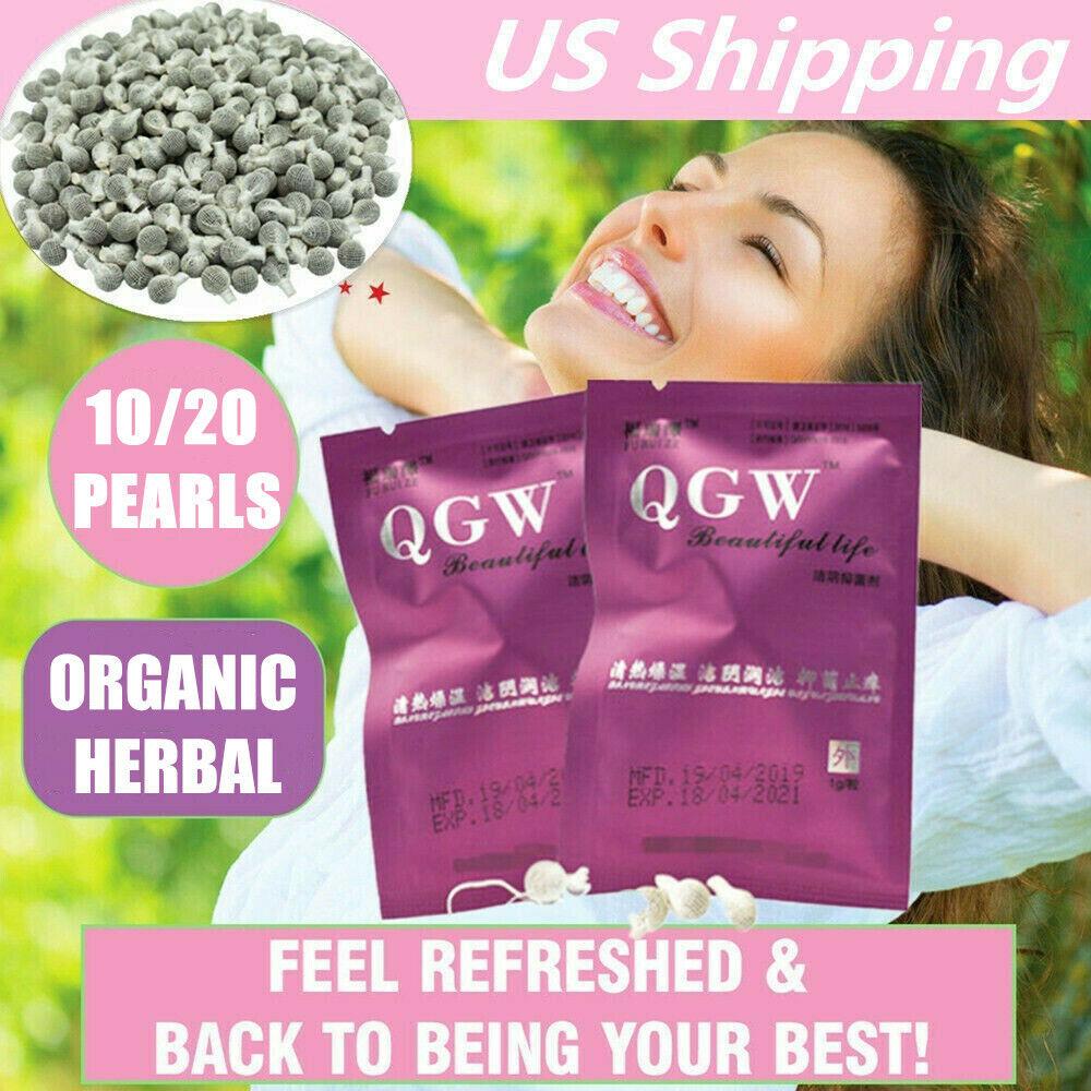 1-10 cleanse detox Yoni Detox Pearls