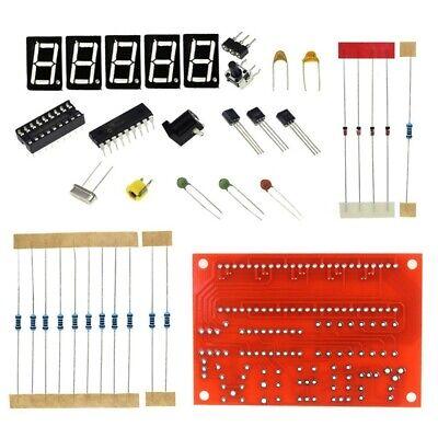 1hz-50mhz Crystal Oscillator Frequency Counter Tester Diy Kit Digital Led Tester