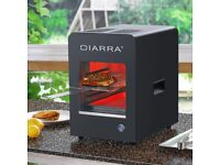 CIARRA Indoor Electric Grill-High Performance Grill Black (Brand New, Unopened)