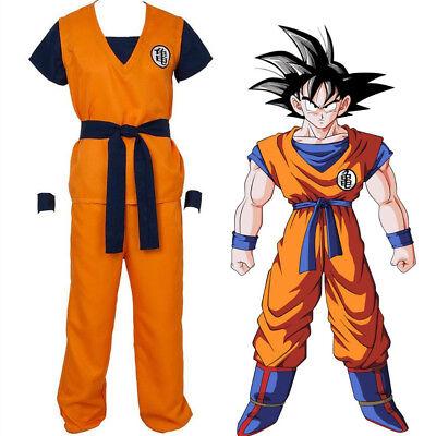 Dragon Ball Z Son Goku Turtle Senru Cosplay Halloween Costume Adult Outfit  ()