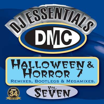 DMC Halloween & Horror Vol 7 Megamixes & 2 Trackers Mixes Remixes DJ CD - Halloween Dj Mixes 2017
