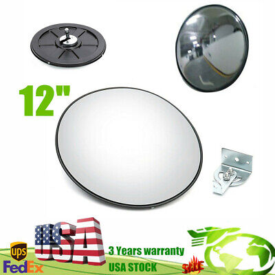 Traffic Convex Mirror Outdoor 30cm Eliminate Blind Spots Security Wide Angle