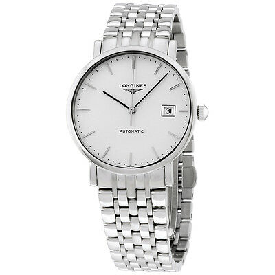 Longines Elegant Collection Automatic Stainless Steel Mens Watch L48104126