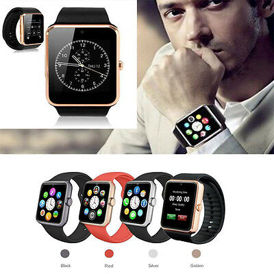 GT08 Bluetooth Smart Watch NFC Wrist Phone Mate For iPhone Andorid Cell Phone ()