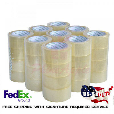 36 Rolls Box Carton Sealing Packing Packaging Tape 2